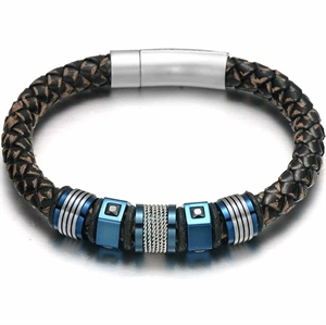Kings Blue Herrenarmband